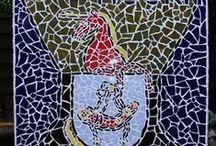Mosaics Artist Sija Van Riel . /  Mosaics                       Pictoricht  https://sites.google.com/site/syavanriel/