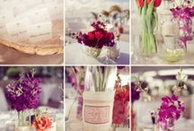 Purple, Pink and Red Wedding Inspiration / by Cari Wible