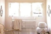 Nursery Inspiration / Interior decorating advice for welcoming your little one home!