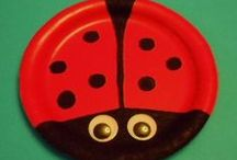 Insects / insect science, insect math, insect literacy activities, insect crafts, insect activities, bees, ladybugs, butterflies, ants,