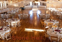 Stone Hall / The limestone rock and orante iron doors give you the elegance you desire in a hill country venue. The picturesque waterfall and surrounding Texas wildflowers make any occasion breathtaking.