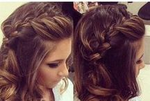 Updos, Color and Curls