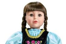 Doll Dress Up / Your child's best friend can wear the same beautiful dress she wears.