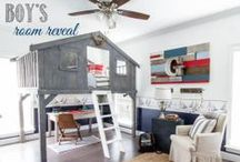 Kids Rooms We Love / A child's room is a great expression on their personality and hobbies.