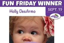 Fun Friday Giveaway / Every Friday is a new Giveaway! Follow us on Facebook and be sure to check in every Friday for the new giveaway. www.facebook.com/LittleDressUpShop