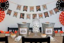 Halloween Party Ideas  / Lots of ideas and inspirations for October 31st!