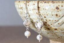 Wire Earrings / Wire wrapped jewellery