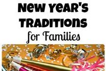 Celebrate the New Year  / Kid friendly New Year's Eve celebrations