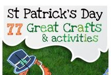 St. Patrick's Day Fun / Recipes, crafts and decor to celebrate the one day everyone is Irish.