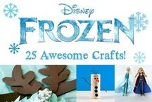 Frozen is all the rage! / Crafts & Party Ideas based on the Disney movie Frozen