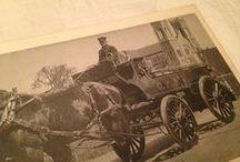 Pompiers - Alphonse Bertrand / Pompiers qui se déplacent avec les chevaux  //  pompier mort au devoir dans la Ville de Quebec