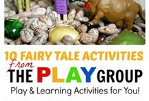 Fairy Tales / All of the activities and crafts to make the classics come to life.
