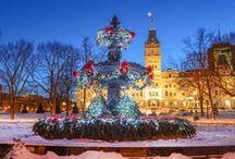 Capitale nationale - Québec / Assemblée nationale du Québec, Le Carnaval de Québec, rue Petit-Champlain, Château Frontenac, Chute Montmorency,  Portneuf, Côte de Beaupré