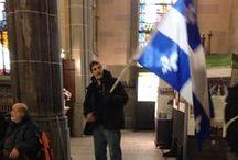 Drapeau de l'État du Québec