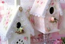 Birdhouse and Birdcage Altered