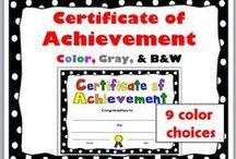 End of Year / Certificates, awards, graduation, promotion, diplomas