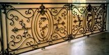 Fences & Railing / Fence and interior and exterior railings designed and created by Metals & Nature.