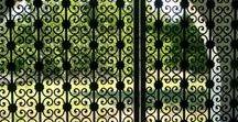 Doors & Windows / Handmade door designs and iron door and window bars created by Metals & Nature.