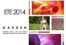 GARDEN ÉTÉ 2014 / Découvrez notre thème GARDEN, maillot de bain imprimé fleuri. Tendance maillots de bain 2014. Collection maillots de bain 2014