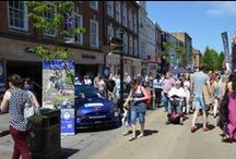 Worcester Motor Festival 17th May 2014 / Motor Festival on the streets of Worcester