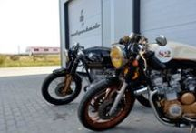 cafe racer / cafe racer style motorcycles
