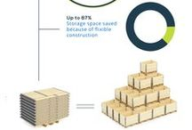 Pallet Collars - Infographics / Improve the efficiency of your work with the help of pallet collars!