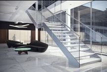 Steel Staircases / Steel Staircases for Interiors