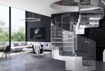 New! JOY / Joy is the new steel stair designed by Simone Micheli. www.executivestairs.com
