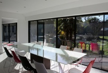 Project: Burdon Lane / A wide run on IQ's Minimal Windows on this residential rear extension