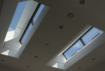 Project: Church Walk / A series of rooflights with automated openings set in a residential property