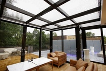 Project: Ebony Court / A lovely framed glass extension roof terrace near Bishops Avenue