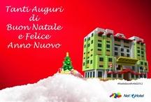 #NataleinHotel / Che atmosfera Natalizia circonda la tua struttura? Condividi con noi come hai addobbato il Tuo #Hotel!