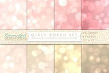 Digital Paper Patterns / For scrapbooking, journaling and a myriad of other projects!