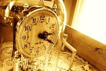 Time is power / ...all kinds of clocks...