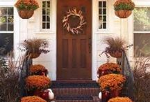 Thanksgiving Decor Outdoors / Decorations