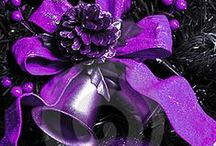 A Purple Christmas / Ideas for a wonderful purple Christmas! / by ✨💜Nancy💜✨