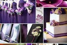 A Purple Wedding / Purple Theme Weddings..Dresses, Cakes, Flowers, etc. / by ✨💜Nancy💜✨