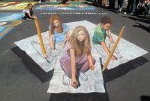 Inspirational Chalk Art