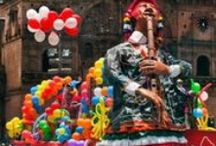 Carnivals in Cusco / Spread Peru's cultural and natural wealth around, promoting the perspective in which more Peruvians and foreigners might get to know our material and immaterial patrimony.
