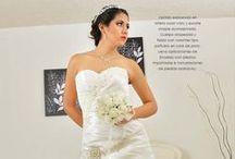 VESTIDO DE NOVIA / Todos lucidos por novias verdaderas el día de su Boda