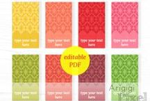 Featured: Arigigi Pixel / Featured Designer: Gina of Etsy shop Arigig Pixel