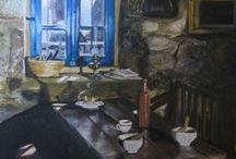 mes peintures / peintures toiles