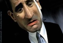 Crooked mirrors - Caricatures and Portraits / Celebrity Caricatures and Portraits