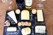 Wine and Cheese / Classic pairings of our favorite wine and cheeses.