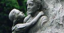 ophélie en français / Bjdolls - statues - romantic/ Victorian scenes