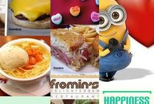 FREE Fromin's Restaurant & Deli $50.00 Gift Card / Okay, Facebook Fans: We have a FREE Fromin's Restaurant & Deli $50.00 Gift Card up for grabs!   Win a free $50.00 Fromin's Restaurant & Deli gift card - just LIKE US (or LIKE this post) on our Facebook page and you are automatically entered for a chance to win! We will announce the winner on the 15th of the month, so check back to see if you won! #GetFrominsDeli #DreamEats #LAStory — at Fromin's Restaurant & Deli.