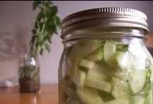 Fermented Food / One of the best ways to unlock the hidden potential of your fruits and vegetables is by fermenting them!