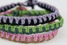 Bracelets, rings, necklaces