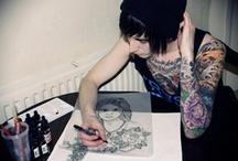 Tattoos / Body art pashion.