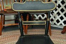 Antique Furniture / Small Antique Chair At GreshamAntiques.com #Raleigh #NC #Antiques